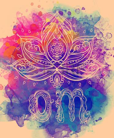 49991986-ornamentale-fiore-di-loto-boho-style-disegnato-geometrica-elemento-mano-carte-perfette-per-qualsiasi